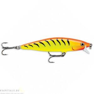 Rapala Flat rap FLR10 Hot Tiger (HT) wobbler