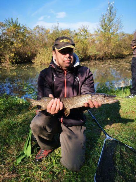 Legnagyobb hal: Szabó Sándor 60cm