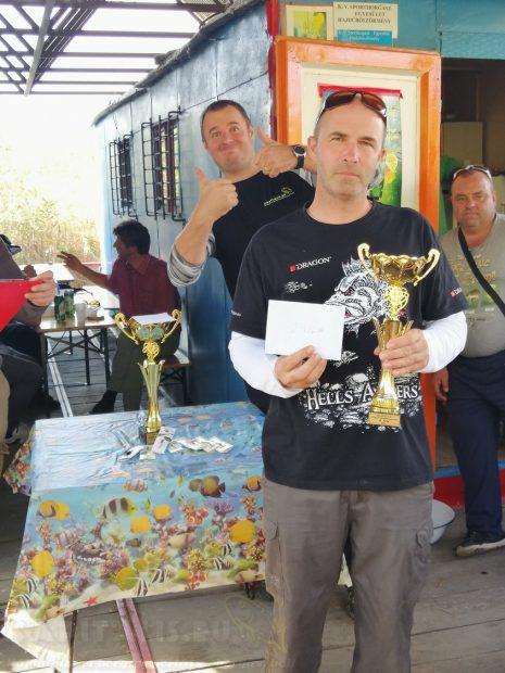2. helyezett: Molnár Kristóf (106cm 5db)