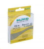Balzer Iron Line8 yellow 0,08mm 150m sárga fonott zsinór