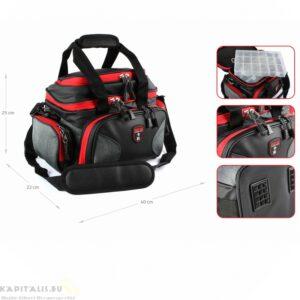 Nevis Reiva pergető táska 40x22x25cm 4 dobozzal (5220-001)