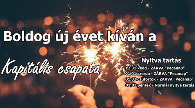 Boldog új évet kívánunk