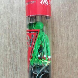Mikado BOGEY kuttyogató ólom polip 100gramm (zöld)