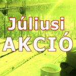 Július akciói
