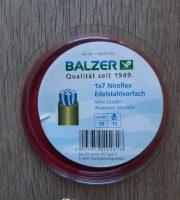 Balzer Niroflex 1×7 szálas 12kg krimpelhető wolfram előke (10m)