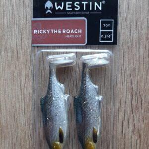 Westin Ricky the Roach Shadtail 7cm 6g Headlight 2pcs
