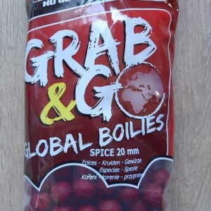 Starbaits GRAB & GO GLOBAL BOJLI 20MM 1KG SPICE