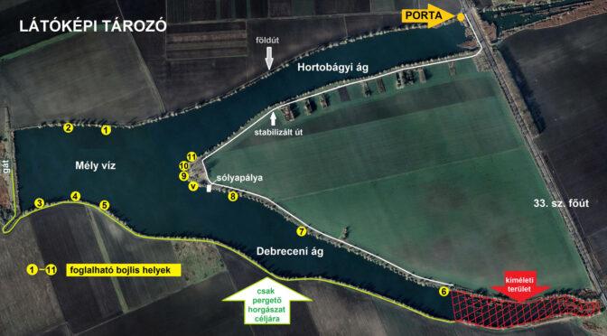 Látóképi víztározó 2021-es árai