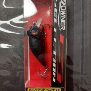 Owner Bug Eye felszíni wobbler (Black in dark)