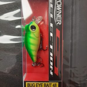 Owner Bug Eye felszíni wobbler (Chartreuse)