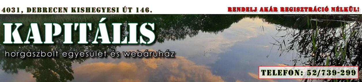 KAPITÁLIS horgászbolt egyesület és webáruház